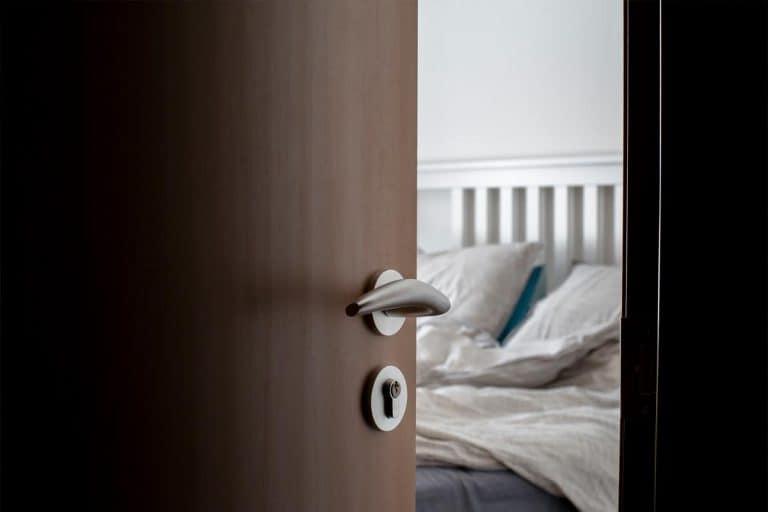 Open door to a bedroom, Bedroom Door Won't Stay Open - What To Do