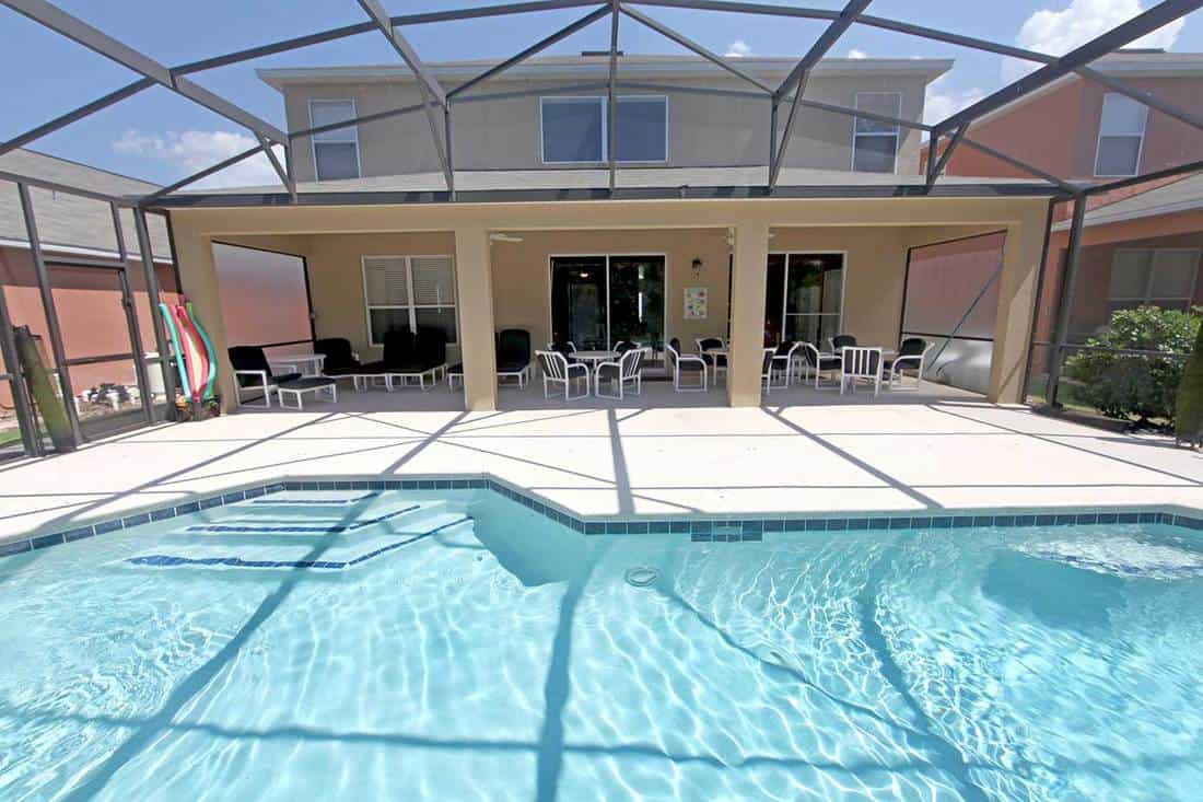 Screened pool and Lanai