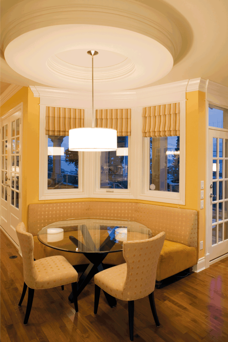 breakfast room luxury estate home real estate in decadent yellow theme. 15 Decor Ideas For A Breakfast Nook