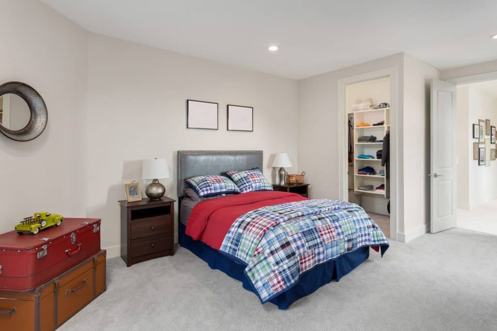 children's bedroom in luxury home