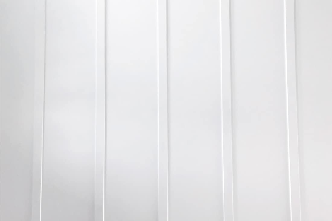 Board and Batten White Wall