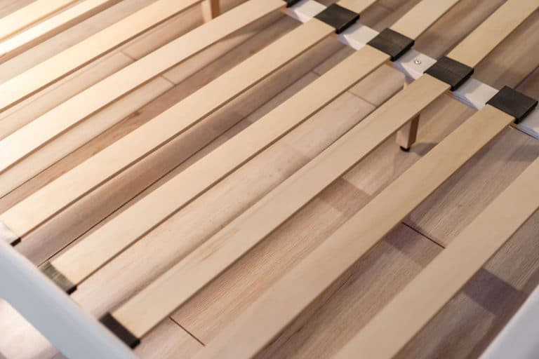 Evenly made wooden bed slats, How Wide Should Bed Slats Be? How Many Do You Need?