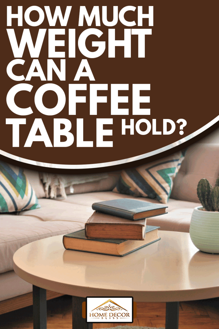 cozy home armchair and sofa decor and a coffee table, How Much Weight Can A Coffee Table Hold?