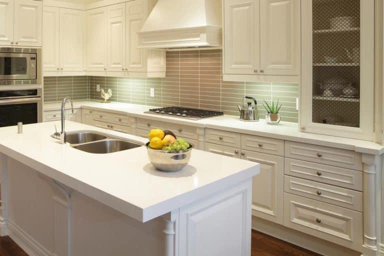 Modern kitchen interior design with island