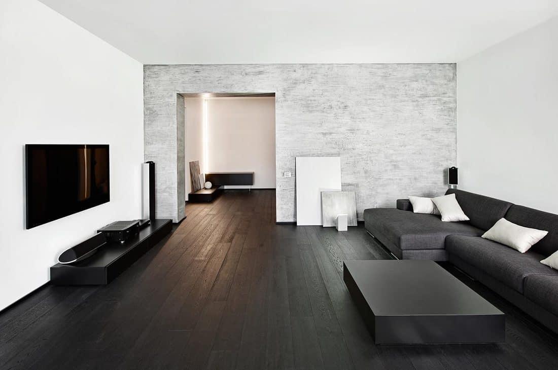 Modern minimalism style drawing-room