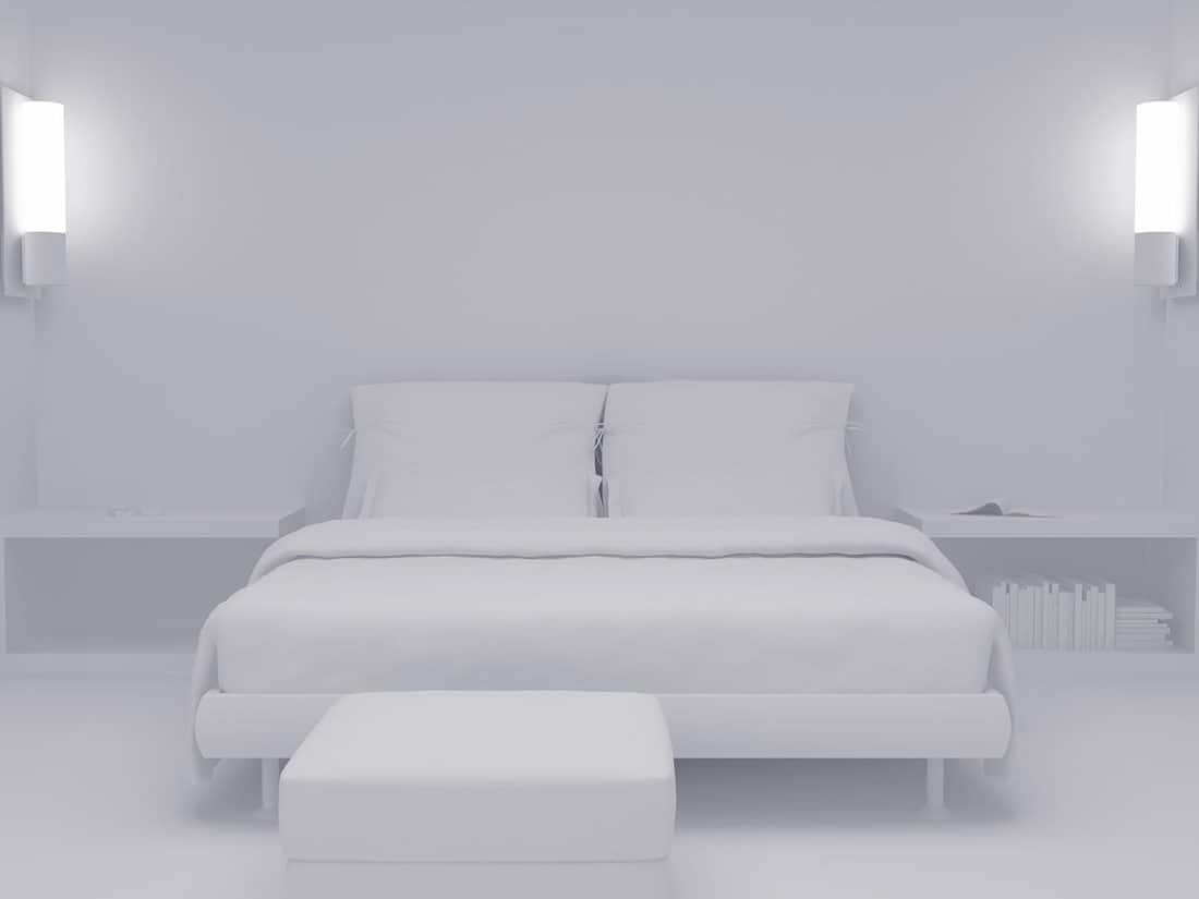 White bedroom set seven