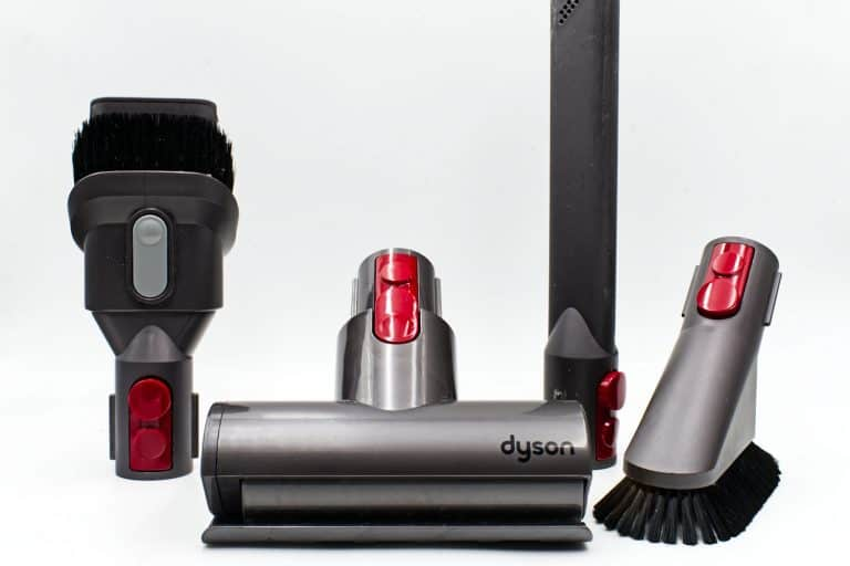 A disassembled Dyson vacuum, How To Find The Model Number On A Dyson Vacuum