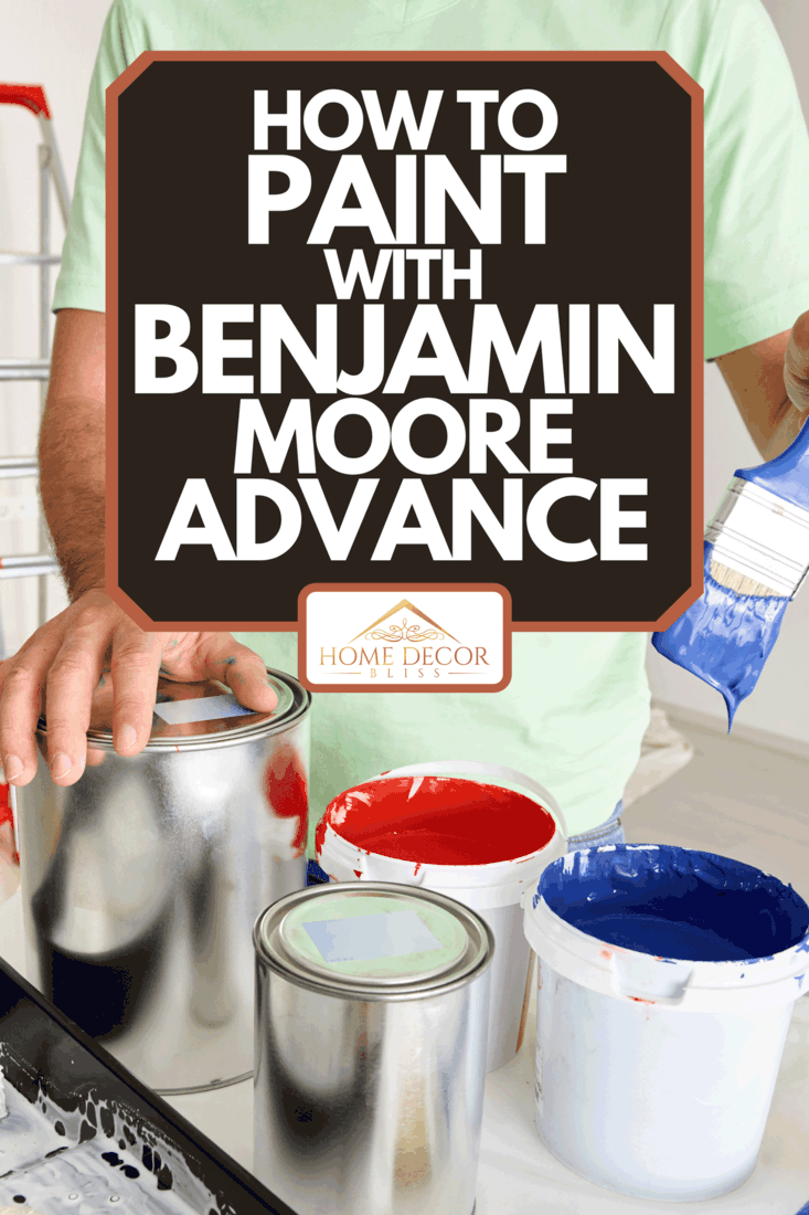 A man preparing paint, How To Paint With Benjamin Moore Advance