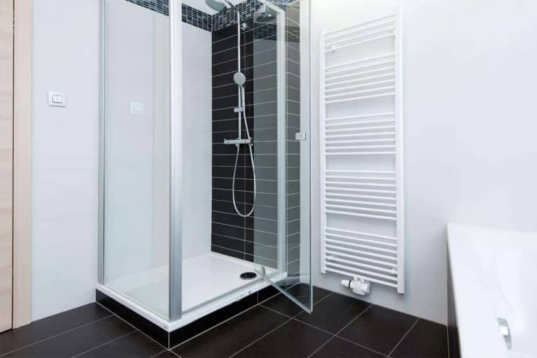 Modern bathroom with shower and bathtub, How To Paint A Shower Base In 8 Steps