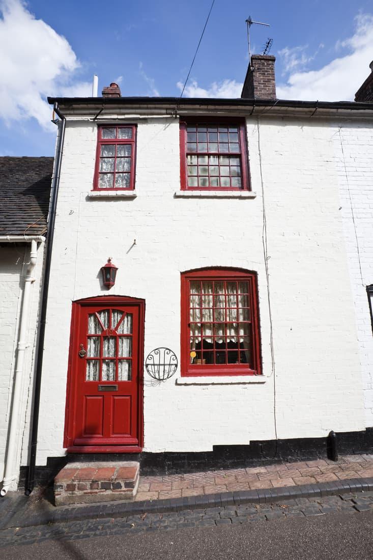 Terraced English House